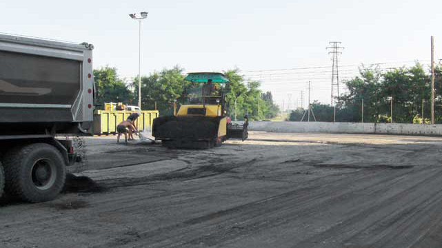 asfalto mobilità stradale Bellesia scavi