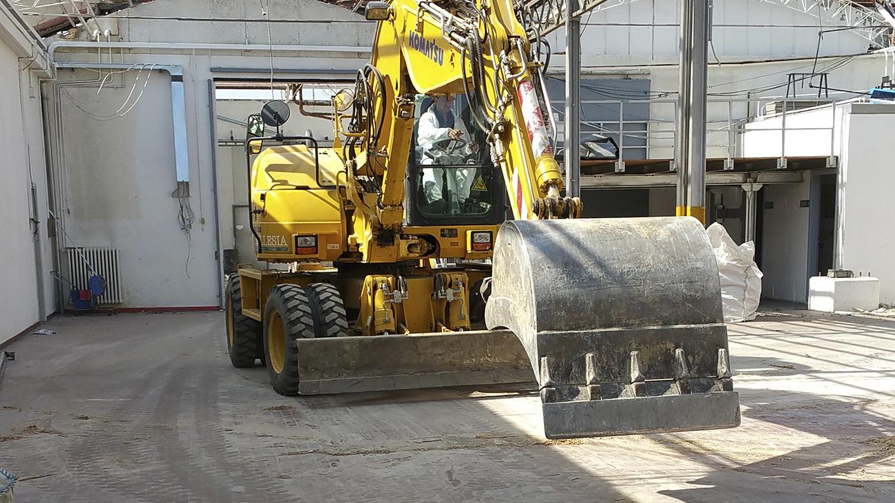 Ruspa per demolizioni e scavi Bellesia