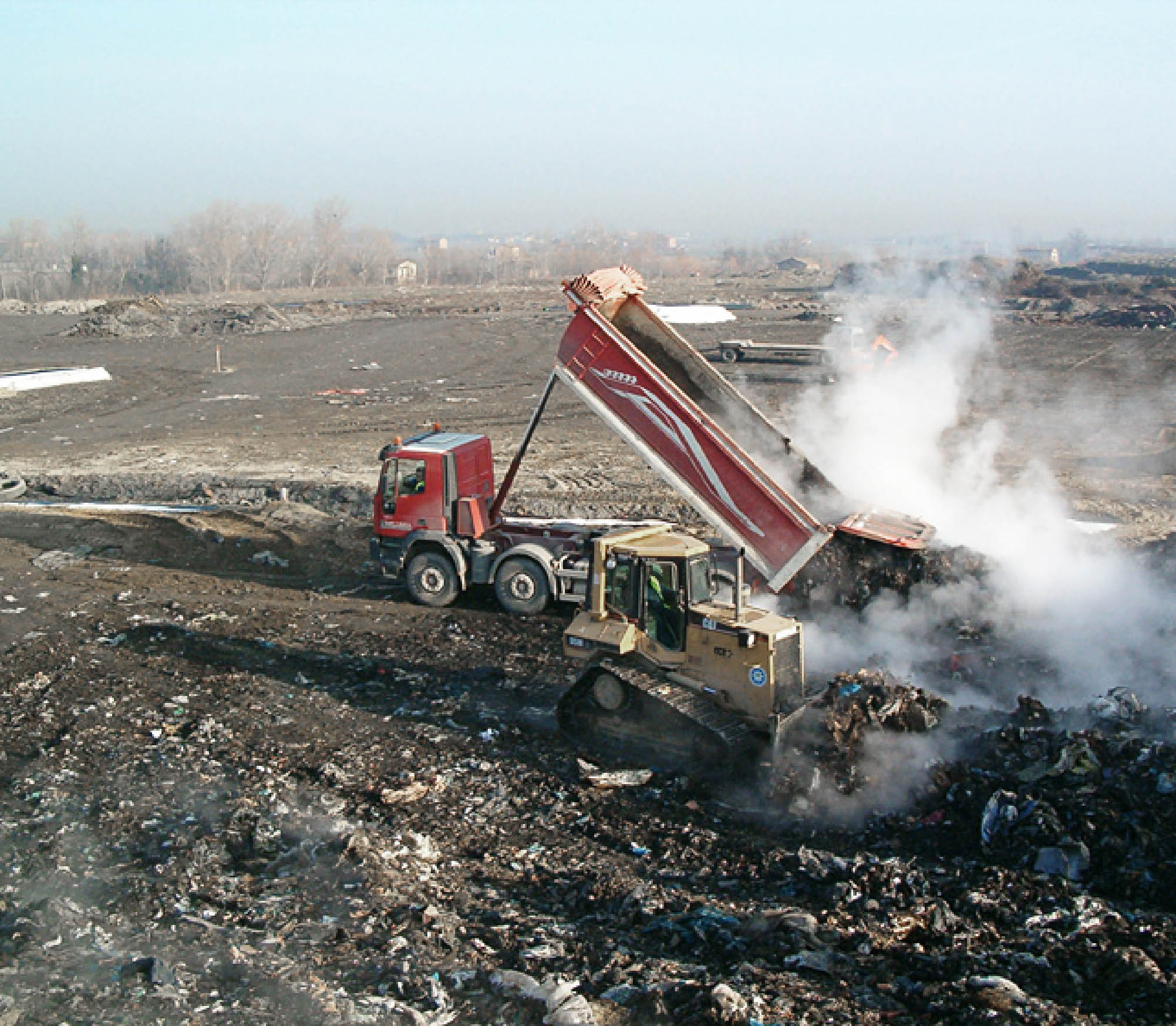 Smaltimento dei rifiuti e discariche per rifiuti non pericolosi Bellesia scavi