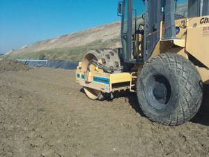 Discarica con movimentazione terreno Bellesia scavi