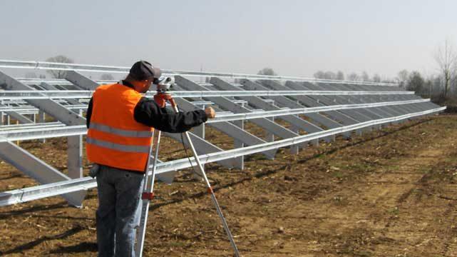 Creazione parco fotovoltaico Bellesia scavi