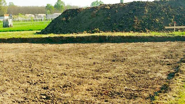 Scavi agricoli edificio bellesia scavi