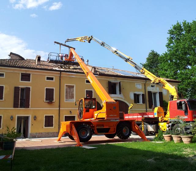 Messa in sicurezza edifici Bellesia scavi