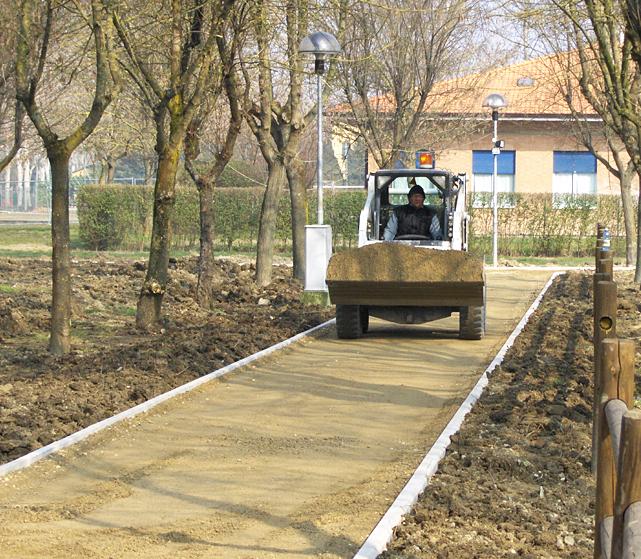 Urbanistica modificata pavimentazione e scavi Bellesia