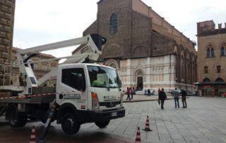 Modifiche strutture bologna piazza maggiore BEllesia scavi