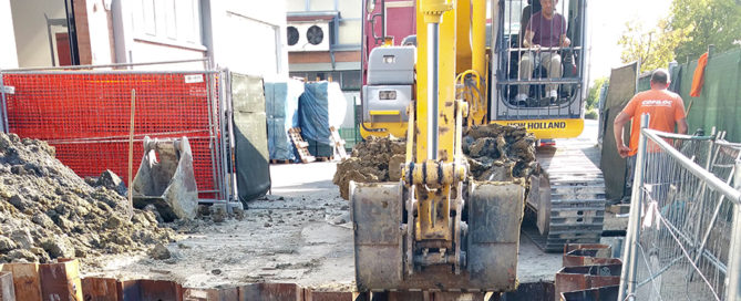Ruspa demolizione scavi bellesia scavi