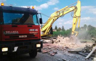 Demolizioni novi bellesia scavi