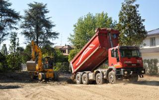 Cantiere carpi escavazione