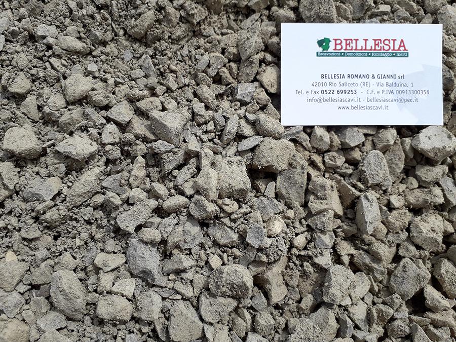 Compattato 0/30 - stoccaggio, recupero e vendita materiali inerti - Bellesia scavi