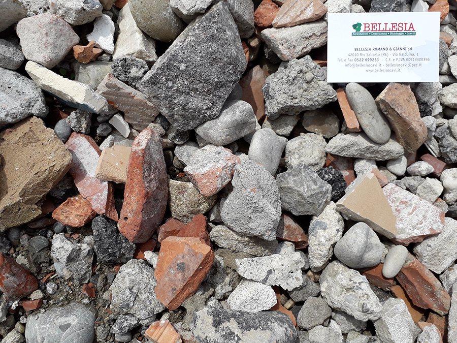 Riciclato misto 0/80 - stoccaggio, recupero e vendita materiali inerti - Bellesia scavi