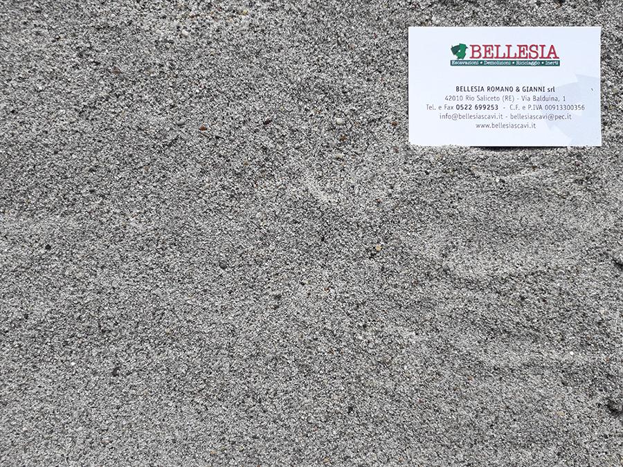 Sabbia di Po lavata - stoccaggio, recupero e vendita materiali inerti - Bellesia scavi