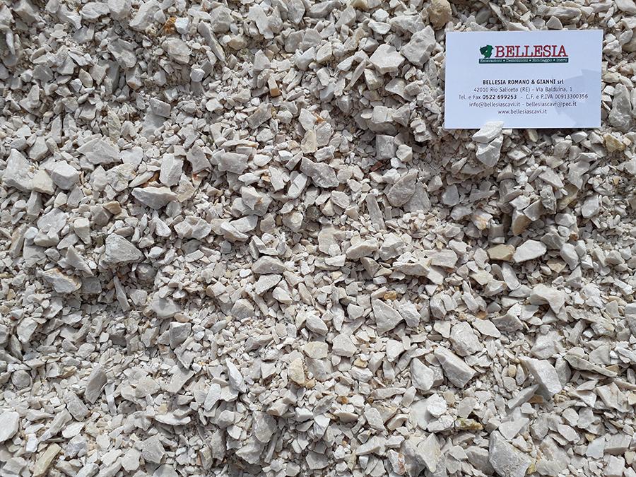compattato 0/30 bianco Brescia - stoccaggio, recupero e vendita materiali inerti - Bellesia scavi